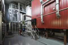 Biofuel boiler Stock Photography