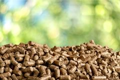 Biofuel. Boilers biomass wood pellet mass bio stock photography