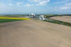 Biofuel factory Royalty Free Stock Photo