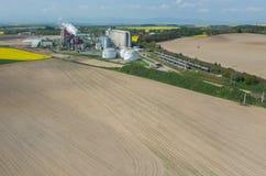 Biofuel factory Stock Photos