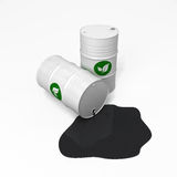 Biofuel and oil Royalty Free Stock Photography