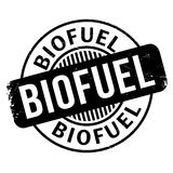 Biofuel rubber stamp Stock Images