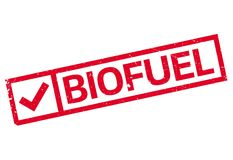 Biofuel rubber stamp Royalty Free Stock Image
