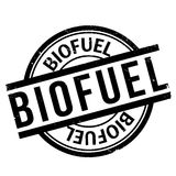 Biofuel rubber stamp Stock Photo