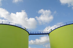 Biofuel storage Royalty Free Stock Photos