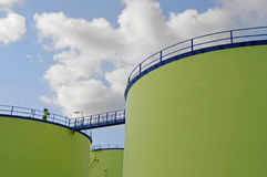 Biofuel storage 2 Stock Images
