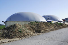 Biogas Royalty Free Stock Photography