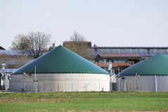 Biogas Royalty Free Stock Photos