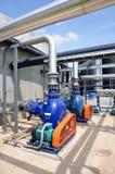 Biogas-Anlage Stockfotografie