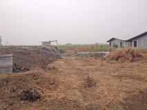 Biogas bedeckte Lagune Lizenzfreie Stockfotos