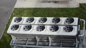 Biogas del fan del ventilatore video d archivio