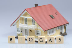 Biogas Model House Royalty Free Stock Images