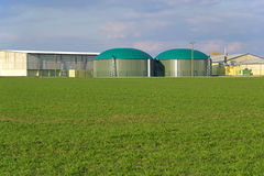 Biogas plant 02 Royalty Free Stock Photos