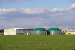 Biogas plant 03 Stock Image