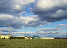 Biogas plant Stock Images