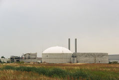 Biogas plant 13 Royalty Free Stock Photos