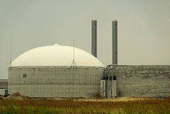 Biogas plant 14 Royalty Free Stock Photography