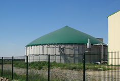 Biogas plant 17 Stock Image
