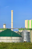 Biogas plant Stock Photos
