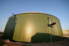 Biogas Plant. A building site of a biogas plant stock photos