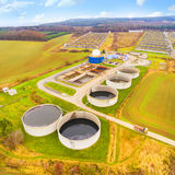 The biogas plant. Stock Photography