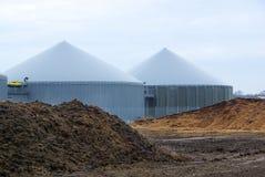 Biogas plant Royalty Free Stock Photo