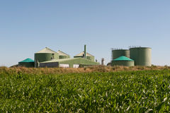 Biogas plant Royalty Free Stock Photos