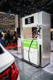 Biogas station. At the 85th International Geneva Motor Show in Palexpo., Switzerland Royalty Free Stock Photo