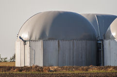 Biogas tank. Stock Photo
