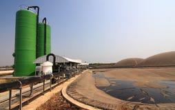 Biogas thailand Fotografering för Bildbyråer