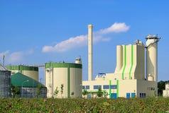 Biogasanlage stockfotos