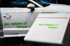 Biogasauto royalty-vrije stock foto