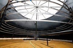Biogasdigestor Arkivbilder