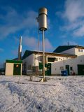 Biogasinstallatie Stock Afbeelding