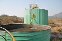 Biogasteknikväxt 2 Royaltyfri Bild