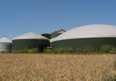 Biogasväxt Royaltyfri Bild