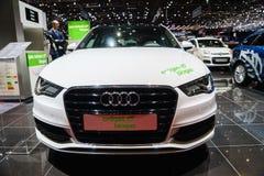 Biogaz Audi A3 Sportback g-Tron Images libres de droits