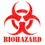Biogefahrstempelabbildung Lizenzfreie Stockbilder
