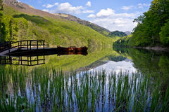 biograd jezioro Montenegro Zdjęcie Stock
