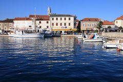 Biograd, Kroatien lizenzfreies stockfoto
