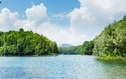 Biograd lake, Montenegro Royalty Free Stock Photo