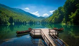 Biogradsko lake landscape, Montenegro Stock Images