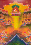 A biografia da Buda: A grande iluminação Foto de Stock