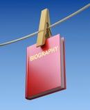 Biografie het witwassen Royalty-vrije Stock Foto's