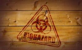 biohazard印花税 库存照片