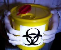 biohazard实验室 库存照片