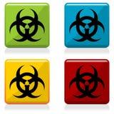 biohazard按符号 免版税图库摄影