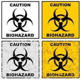 biohazard διάνυσμα σημαδιών απεικόνισης eps10 Στοκ Εικόνα