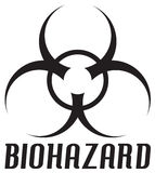 biohazard σύμβολο Στοκ Φωτογραφίες