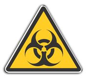 Biohazard. Warning Sign Biohazard Stock Photo